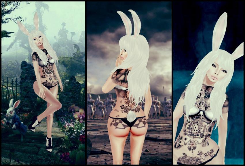 Erotic jpg rabbit bunny alice wonderland