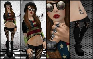 rebel collage