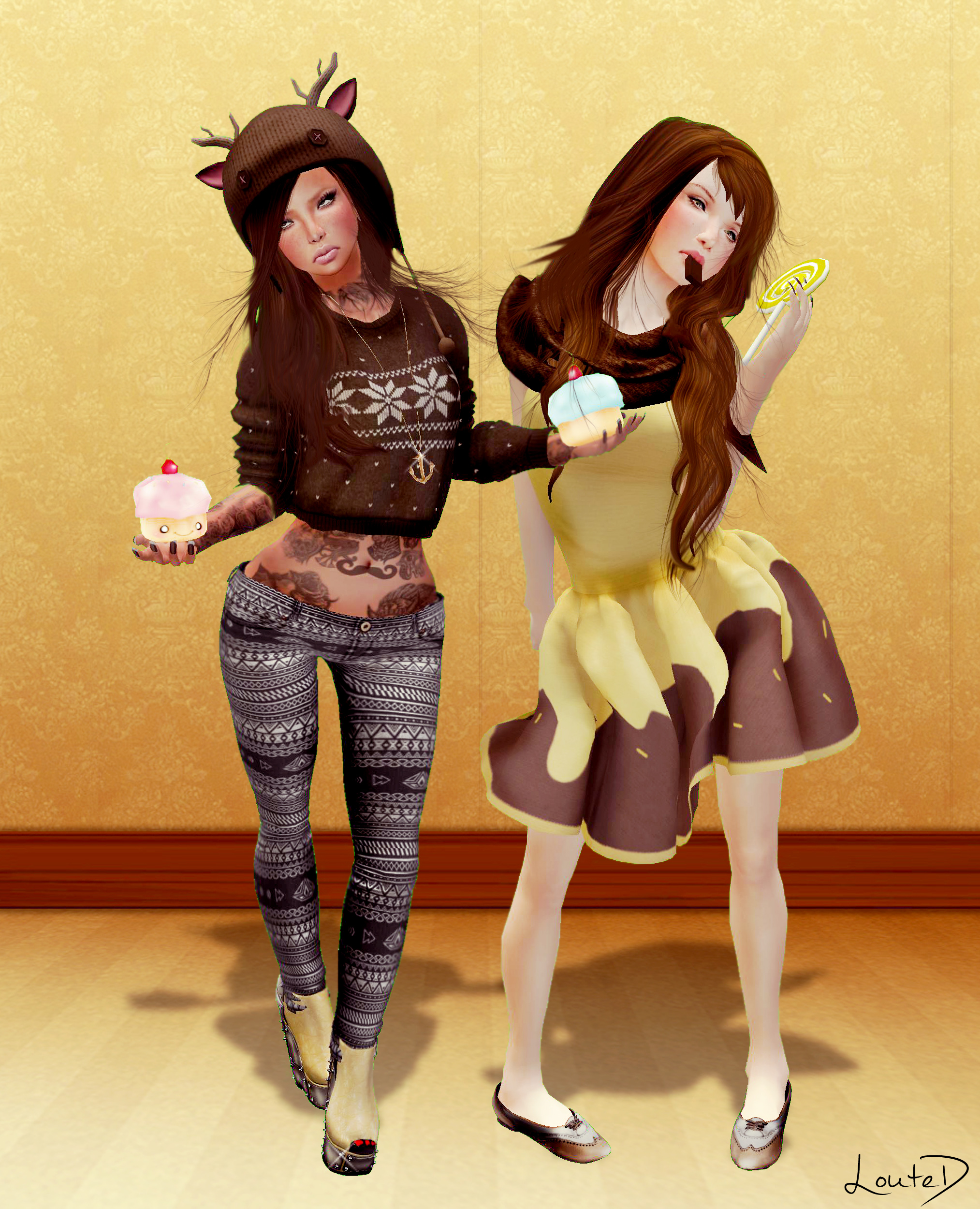 Maya Candy Doll TV Models