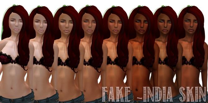 fake india skin
